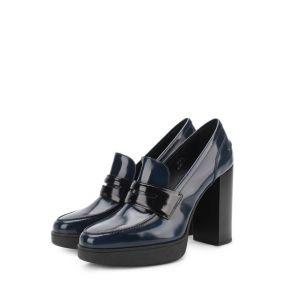 Лаковые туфли с перемычкой Tod's