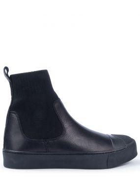 Комбинированные ботинки-челси