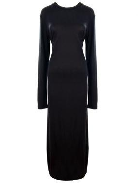 Платье-макси со стразами