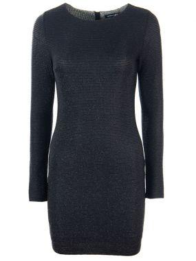 Мерцающее платье-футляр
