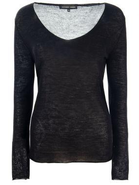 Тонкий пуловер из кашемира