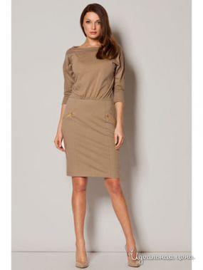 Платье Figl, цвет бежевый