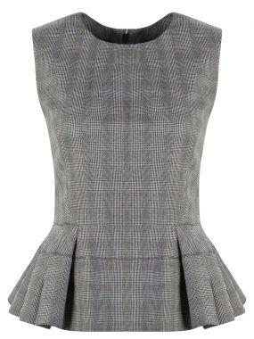 Костюм-тройка топ юбка брюки