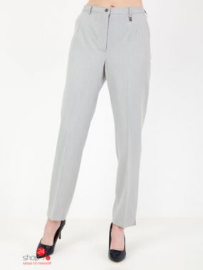 Прямые брюки Adelina by Scheiter Klingel, цвет серый