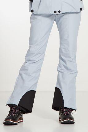 Утепленные серые брюки