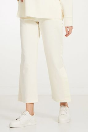 Хлопковые белые брюки