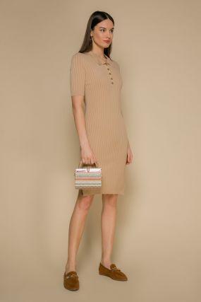 Платье 101888 Beige