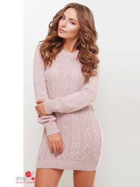 Платье MarSe, цвет светло-розовый