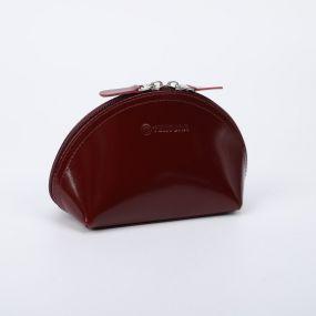 Косметичка простая, отдел на молнии, шик бордовый