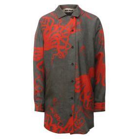 Шелковая рубашка Uma Wang