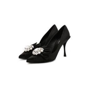 Текстильные туфли Lori Dolce & Gabbana