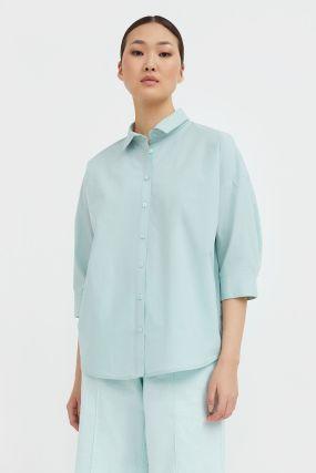 свободная хлопковая рубашка