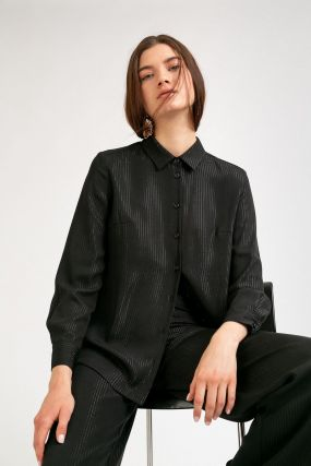 Блузка в полоску
