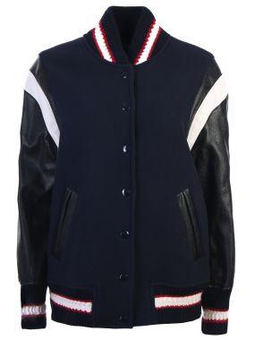 Куртка-бомбер с аппликацией
