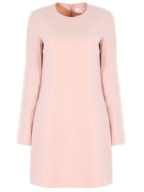 Платье-мини с длинными рукавами