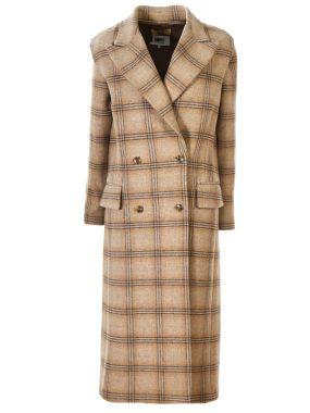 Шерстяное пальто-трансформер