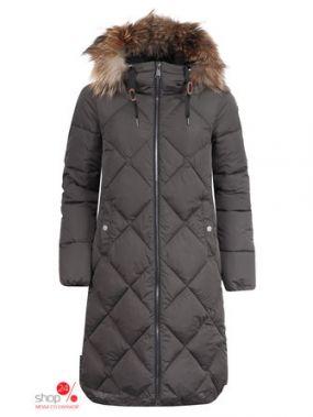 Пальто LUHTA, цвет коричневый