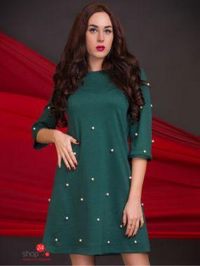 Платье The First Land of Fashion, цвет зеленый