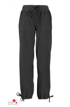 Широкие брюки, длина 80 см Halens, цвет черный