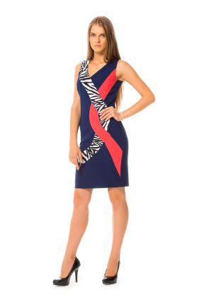 Платье MERLA Зита цвет синий