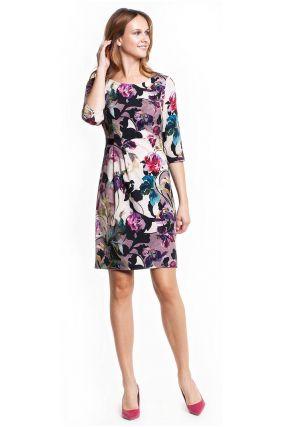 Платье POTIS&VERSO Солина 327I цвет разноцветный