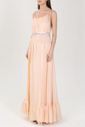 Длинное платье-сарафан