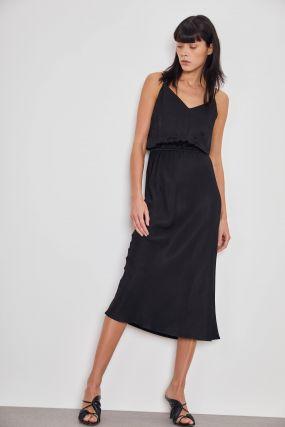 Платье с эластичной талией