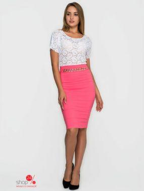 Платье SK House, цвет розовый