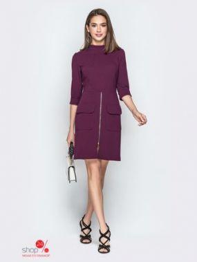 Платье Модный остров, цвет фиолетовый