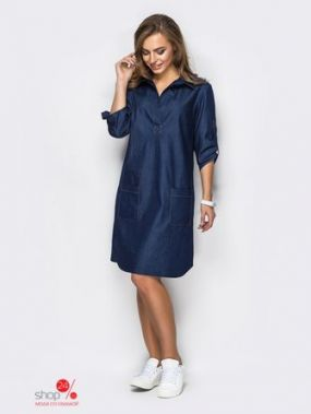 Платье Dresess, цвет темно-синий