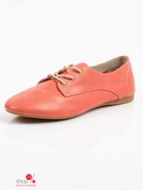 Полуботинки Just Couture, цвет коралловый