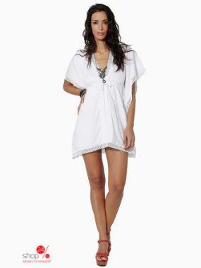 Платье-туника Mauna Barcelona, цвет белый