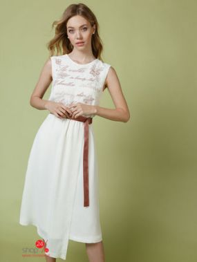 Платье Audrey Right, цвет молочный