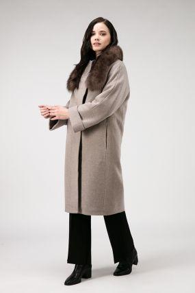 Женское пальто осень-зима из Италии