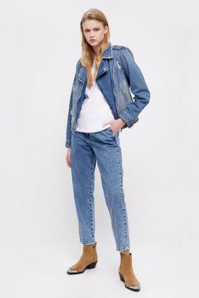 куртка-косуха из голубого денима