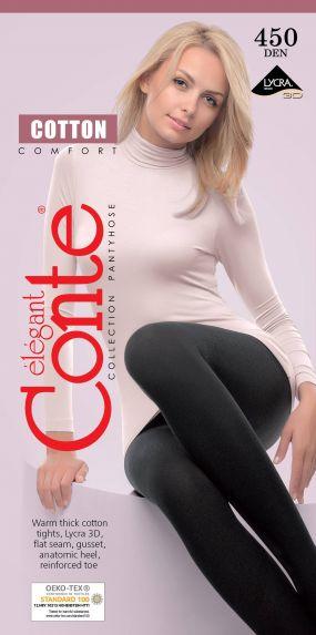 Колготки хлопковые женские Conte ⭐️