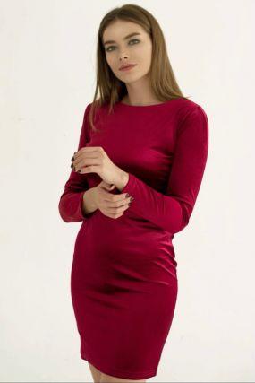 Платье футляр бархатное