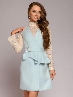 Платье жилет