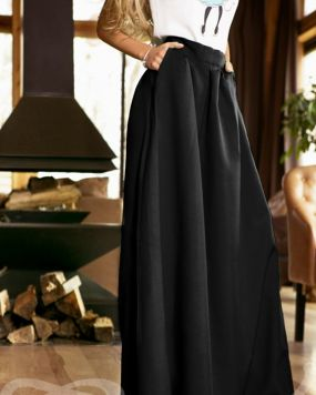 Струящаяся длинная юбка