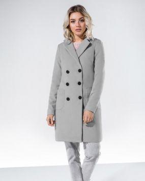 Кашемировое пальто-трапеция