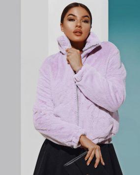 Женская меховая куртка