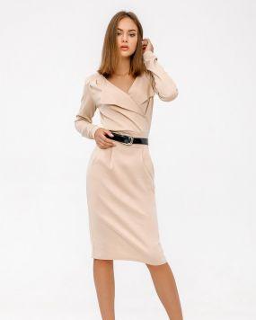 Базовое деловое платье