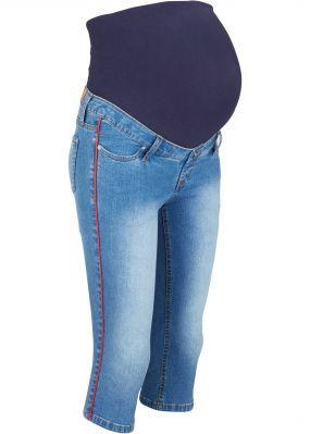 Капри джинсовые для беременных
