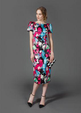 Платье-футляр MR027B