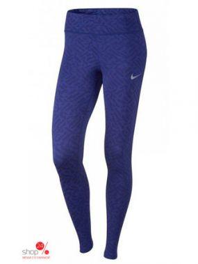 Леггинсы Nike, цвет синий