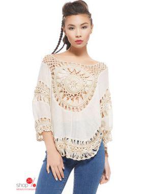 Блуза Nothing but love, цвет бежевый