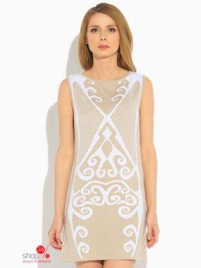 Платье Green Tara, цвет белый, бежевый