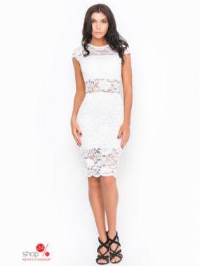 Платье Molegi, цвет белый