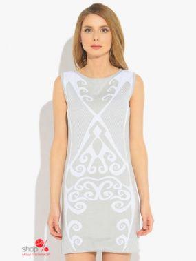 Платье Green Tara, цвет белый, серый