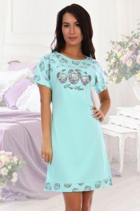 Ночная сорочка Грильяж (ментоловая)